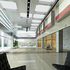 Lobby Reception Area 18 3D Model
