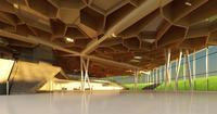 Lobby Reception Area 20 3D Model