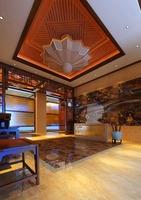 Hotel Lobby 023 3D Model