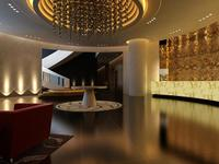 Hotel Lobby 024 3D Model
