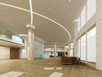 Lobby space 24 3D Model
