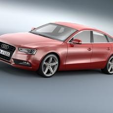 Audi A5 Sportback 2012 3D Model