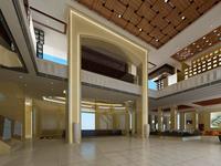 Lobby space 27 3D Model
