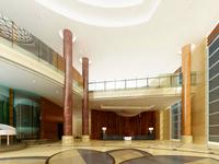 Hotel Lobby  Area 33 3D Model