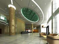 Public Lobby  Area 34 3D Model
