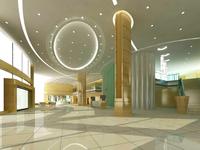 Public Lobby  Area 35 3D Model