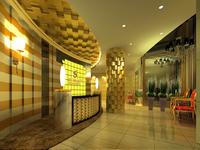 Lobby space 36 3D Model