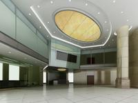 Lobby space 38 3D Model