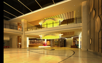 Hotel Lobby  Area 41 3D Model