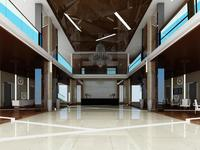Hotel Lobby  Area 46 3D Model