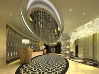 Hotel Lobby  Area 49 3D Model