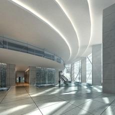 Public Lobby  Area 53 3D Model