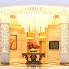 Hotel Lobby  Area 62 3D Model