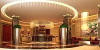 Hotel Lobby  Area 64 3D Model