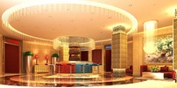 Hotel Lobby  Area 65 3D Model