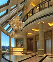 Hotel Lobby  Area 66 3D Model