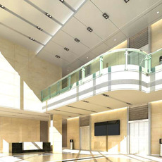 Lobby space 71 3D Model