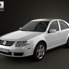 Volkswagen Jetta City 3D Model