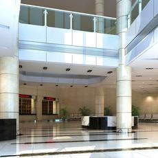 Public Lobby  Area 72 3D Model