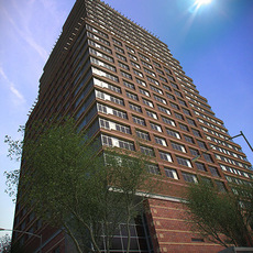 Skyscraper: NewYork style 3D Model