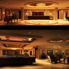 Public Lobby  Area 76 3D Model