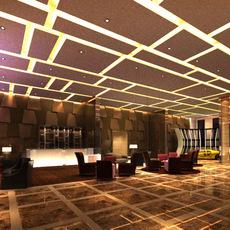 Lobby space 83 3D Model