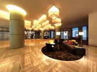 Lobby space 84 3D Model