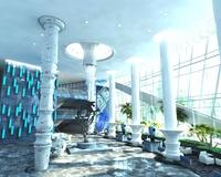 Lobby space 85 3D Model