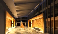 Lobby space 88 3D Model