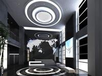 Lobby space 89 3D Model