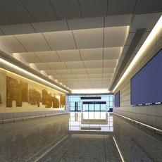 Lobby space 94 3D Model