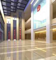 Lobby space 95 3D Model
