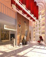 Lobby space 101 3D Model