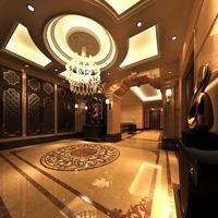 Lobby space 107 3D Model