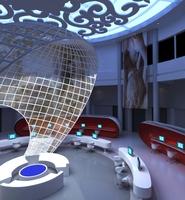 Lobby space 113 3D Model