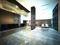 Lobby space 111 3D Model