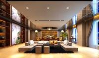 Lobby space 114 3D Model