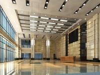 Lobby space 140 3D Model