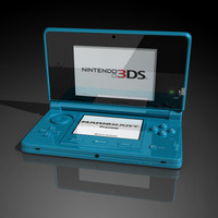 nintendo new 3ds 3D Model