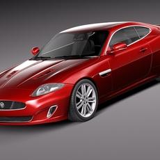 Jaguar XKR 2012 3D Model