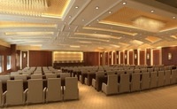 Auditorium room002 3D Model