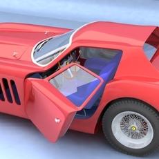 Ferrari GTO 3D Model