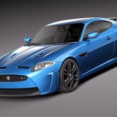 Jaguar XKR-S 2012 3D Model
