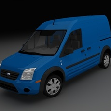 Ford Transit Connect XLT Cargo 3D Model