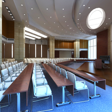 Auditorium room006 3D Model