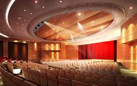 Auditorium room008 3D Model