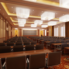 Auditorium room010 3D Model