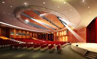 Auditorium room007 3D Model