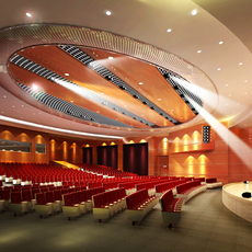 Auditorium room007 3D Model