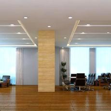 Office space 004 3D Model